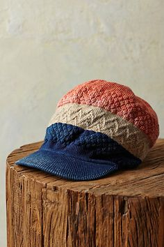Kapital Fusion Cap #anthropologie