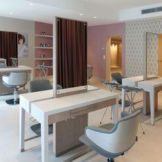 Hair salons spas on pinterest 63 pins for Maletti arredamenti