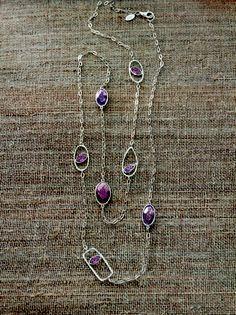 You've got good taste! #Glass, #Sterling #Silver. #Silpada #Jewelry #Necklace