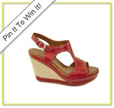 we adore eco-friendly shoes like these Naya wedges. Re-pin now to win!
