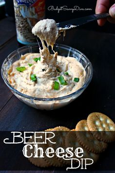 Do you like beer and cheese? If so THIS IS YOUR DIP! Simple to make - perfect for parties of one or many ;)
