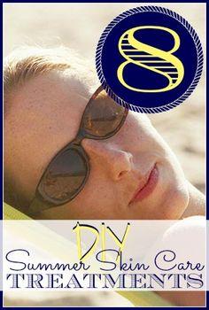 DIY Summer Skin Care from Tipsaholic.com