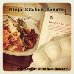 Ninja 3-in-1 Cooking System review (Hearty Skillet Lasagna)
