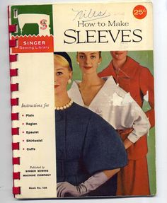 1960s How to Make Sleeves Booklet  Singer by PatternAndStitch, $6.25