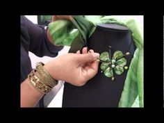 How to tie and wear a Thai silk scarf with our jewelry. scarf16