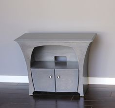 Media Console in Slate Stain by Dust Furniture*