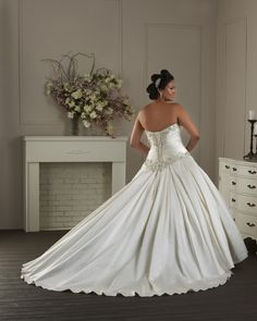 1407 - Unforgettable Plus Size Collections | Bonny Bridal Wedding Gown