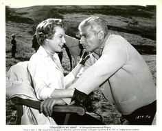 "June Allyson and Jeff Chandler in ""Stranger in my arms"" (1959)"