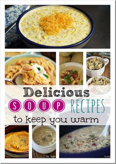 tons of great soup recipes