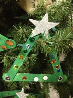 4 simple craft stick ornament ideas to do with kids!