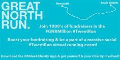 #GNR #GreatNorthRun #GNRMillion #GNR2014 #Running #Marathon www.miles4charity.co.uk