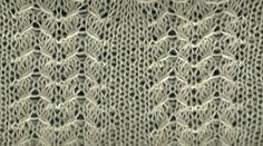 Falling Oats - Knittingfool Stitch Detail