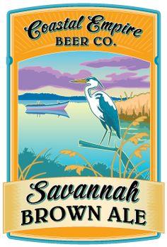 Coastal Empire Beer - Savannah Brown Ale