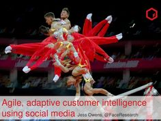 Agile, adaptive customer intelligence using social media by Jess Owens by Face, Social Intelligence for Brands via slideshare