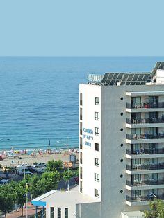 Hotel RH Corona del Mar - fachada y mar