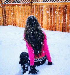 Victoria's Secret Pink #snow