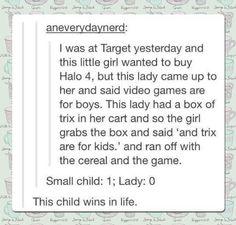This child wins life.