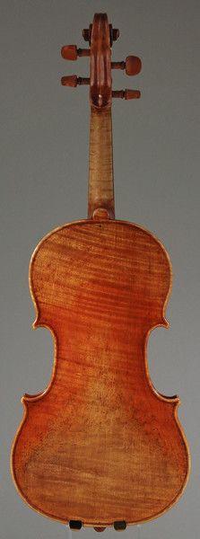 Newly varnished, Violin by Orest Nakonechny, 2012