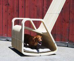 """Rocking 2 gether chair 2.1″ by Paul Kweton / La chaise hybride avec niche intégrée du designer Paul Kweton"