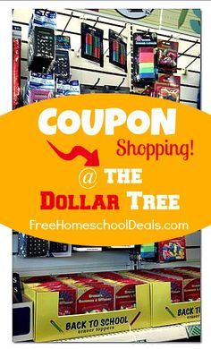 Coupon Shopping at The Dollar Tree | Free Homeschool Deals © ... Couponing For Beginners Youtube http://extremecouponingusa.net/