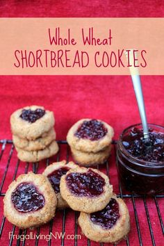 Whole Wheat Shortbread Cookie Recipe