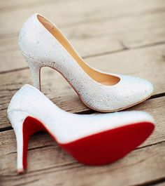 PLEASE. GET. THESE. Red soles and Sparkles