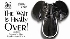 The wait is finally over! Stride Free Race Saddles