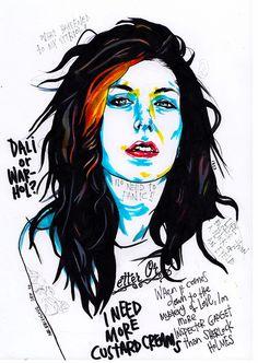 marker portrait by Mr. Frivolous