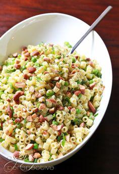 Pea Pasta Salad -