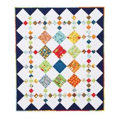 Quilting: #415 Diamond Patch Quilt Pattern