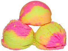 Rainbow Sherbet Bath Fizzies Recipe