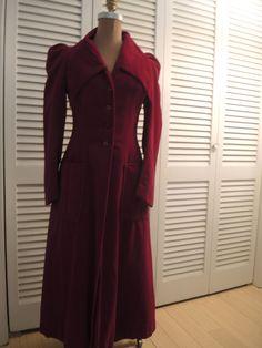 Velvet Dress Coat