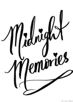 Midnight memories ❥