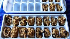 Freeze cookie dough in ice cube trays for portion control... fresh cookies hot out of the oven whenever you want!