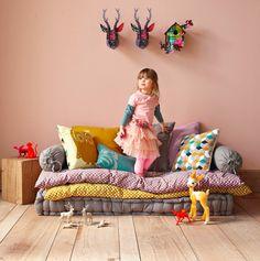 Twiggy & Lou: Adorable rooms via Decopeques