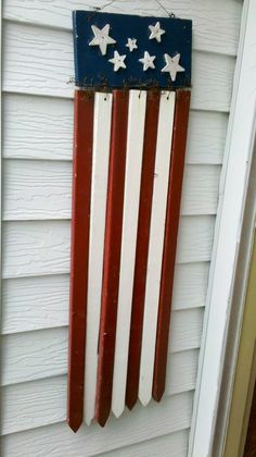 yard stakes/ flag decor
