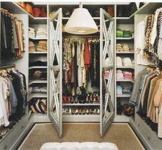 dream wardrobe, closet designs, dream closets, the doors, closet doors, dreams, shelv, closet space, walk