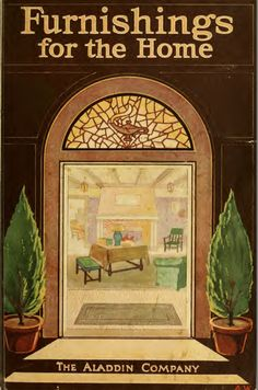 FREE DOWNLOAD!!  Furnishings for the home. (1917) - Aladdin Co.