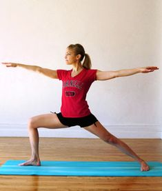 Yoga Poses for Lean Legs - Shape Magazine   Warm weather is officially here! Rock short-shorts season with these yoga poses that will lengthen and strengthen your legs.