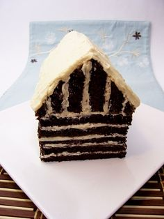 Cake house tutorial
