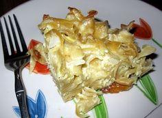 Dairy Onion Noodle Kugel