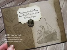 New Traveler stamp set Stampin' Up!® - Stamp Your Art Out! www.stampyourartout.com