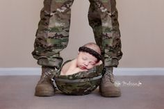 military baby pic