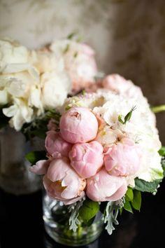 gorgeous blush peonies