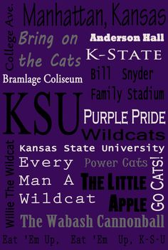 K-State poster for @April Cochran-Smith, @Candice Schneider