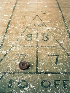 Pyramid Hopscotch