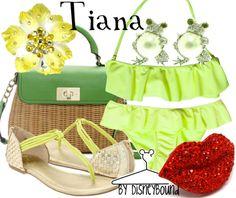 Tiana by disneybound