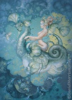 .::Daniel Merriam::. daniel merriam, mermaid tale, fantasi, enchant sea, mermaid concept, tide, artist illustr