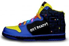 Pac Man hi-tops!!! AMAZING Can someone give me £200 for them please?