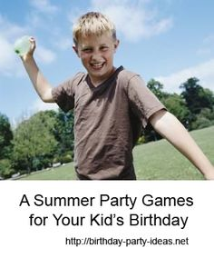 A Summer Party Games
